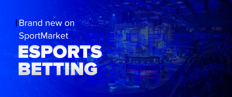 Brand new on SportMarket – eSports Betting